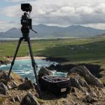 Filming on the beautiful West Coast of Ireland on a spectacular Spring day.